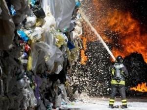 incendio-discarica