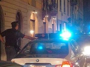 polizia in piazza libertini
