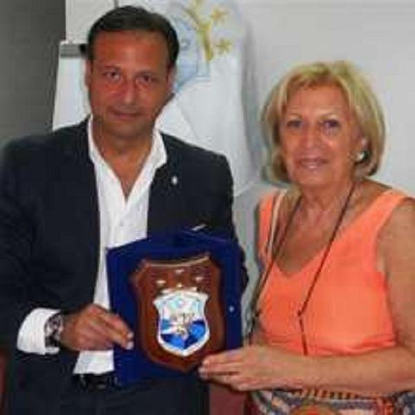 Paolo Pagliaro e Adriana Poli Bortone