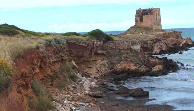 erosione falesia