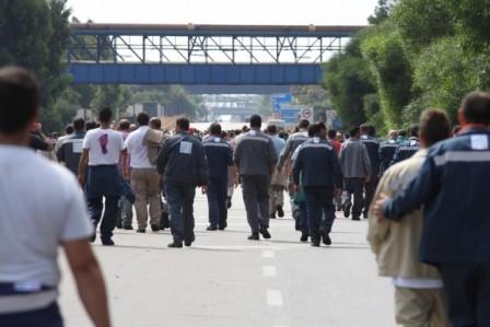 sciopero operai ilva