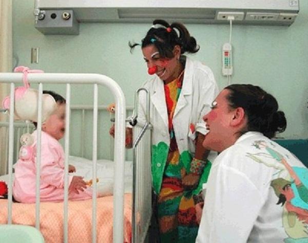 spettacolo in pediatria