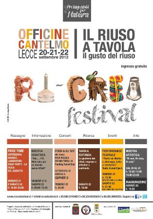 Ricrea Festival - locandica