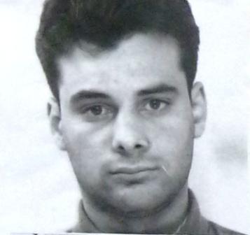 Ronzino De Nitto in una vecchia foto