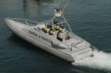 motovedetta GdF