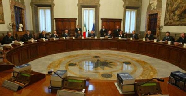 Consiglio dei Ministri - Roma