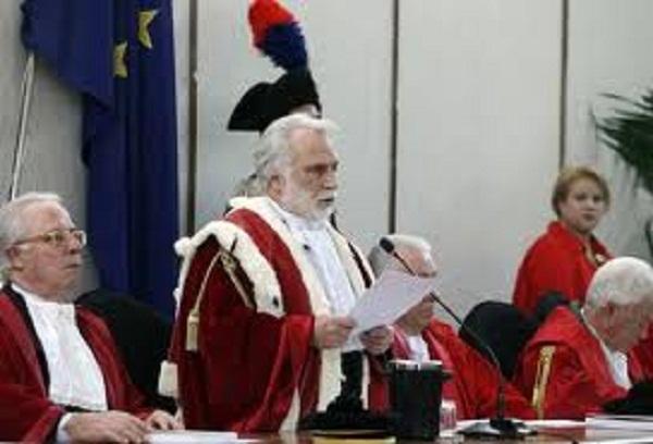Presidente della Corte d'Appello Mario Buffa