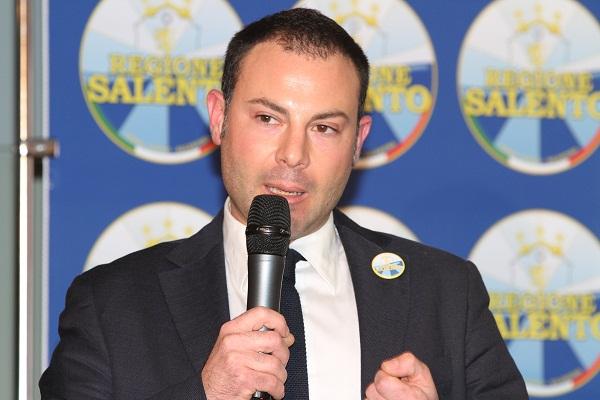 Vicepresidente Movimento Regione Salento Cristian Sturdà