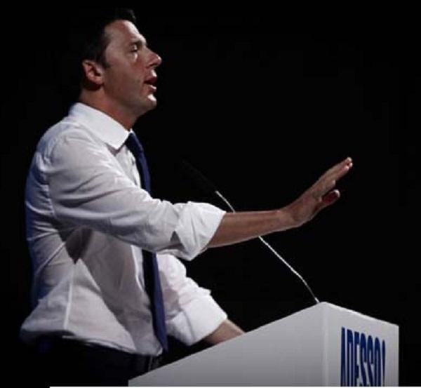 Matteo Renzi apre a Verona la campagna per le primarie del PD