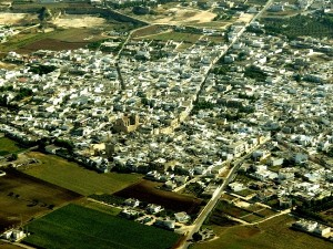 veduta aerea di Avetrana