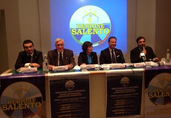 Convegno Movimento Regione Salento - Brindisi