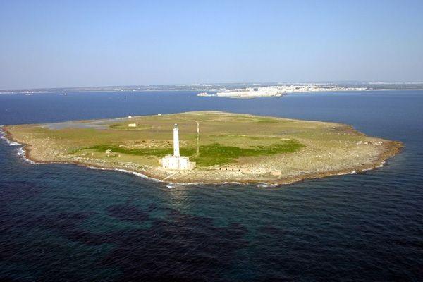 Isola di S.Andrea a Gallipoli