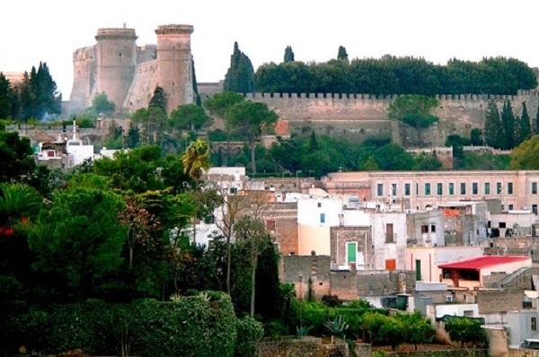 Sfondo Castello di Oria