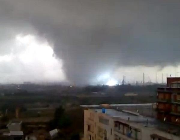 Tornado su Taranto