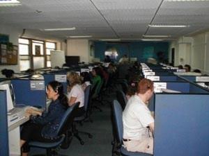 call center 'Teleperformance'