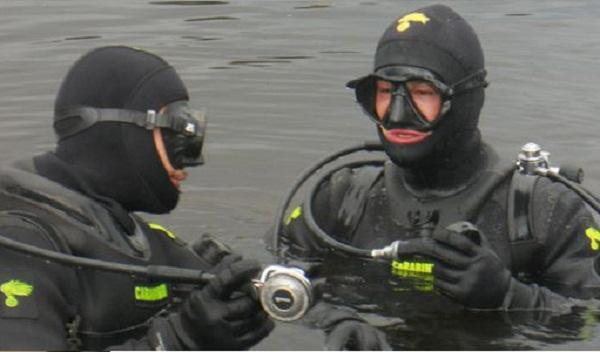 nucleo sommozzatori - carabinieri