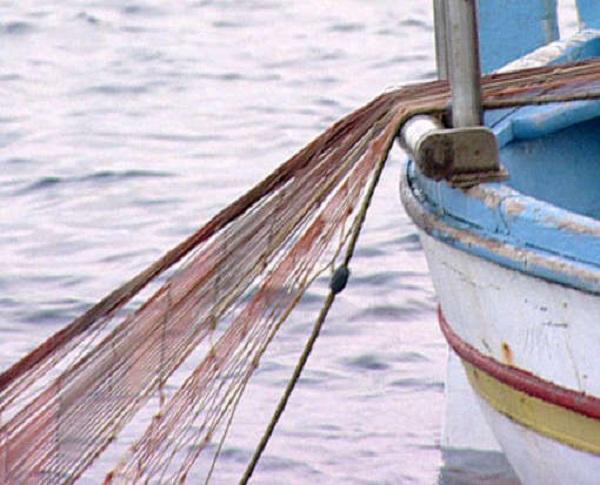 pesca con reti a strascico