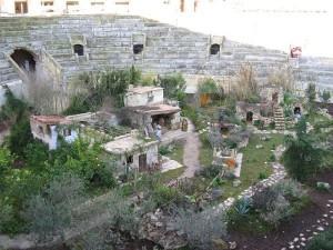 presepe nell'anfiteatro romano