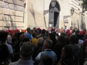protesta cassintegrati