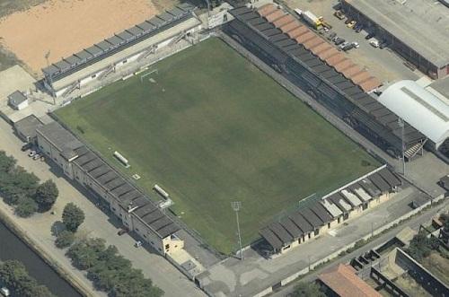 stadio 'Fortunati' di Pavia