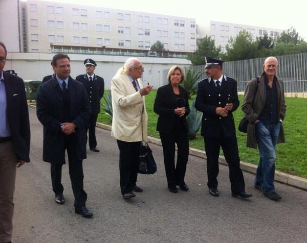 visita al carcere di Borgo S.Nicola