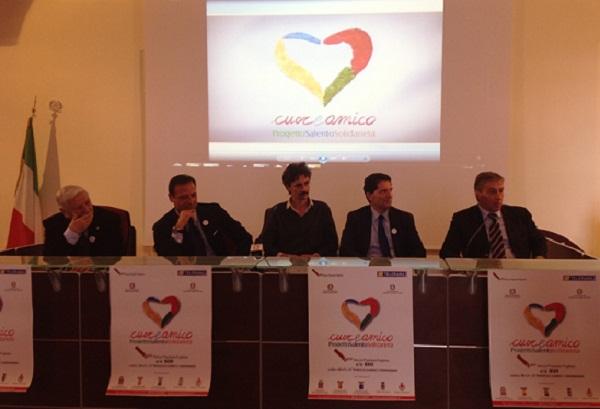 Conferenza stampa 'CuoreAmico- Progetto Salento Solidarietà'