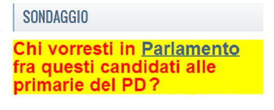 Vota i parlamentari del pd sul sito for Parlamentari del pd