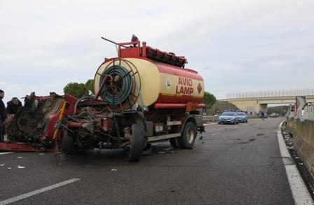 incidente sulla Lecce-Gallipoli
