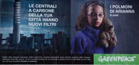 manifesto di Greenpeace
