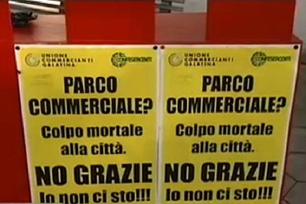 protesta commercianti Galatina