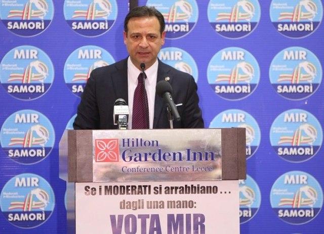 Paolo Pagliaro Coord. Reg. Puglia MIR e Candidato alla Camera dei Deputati