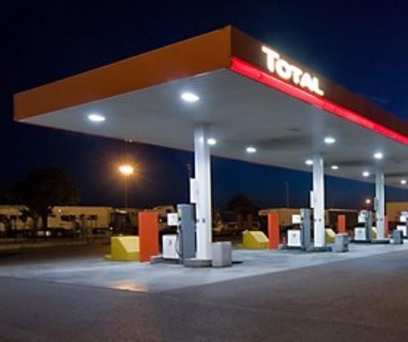 stazione di servizio 'Total'