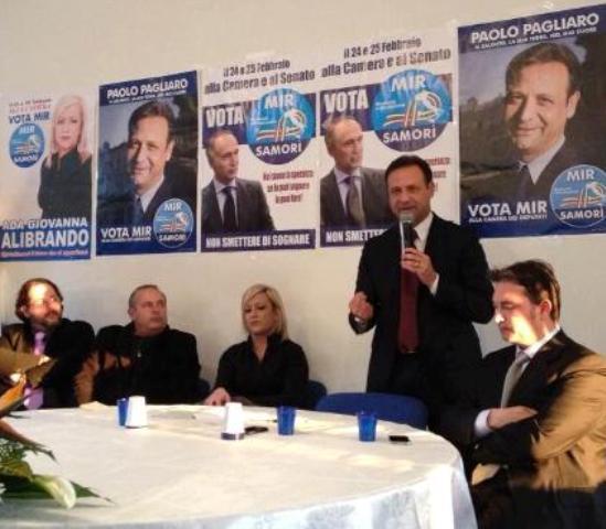 Incontro-dibattito  MIR a Taurisano   .