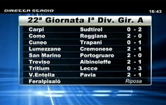 Tritium-Lecce  0-3