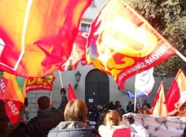 protesta Sanitaservice