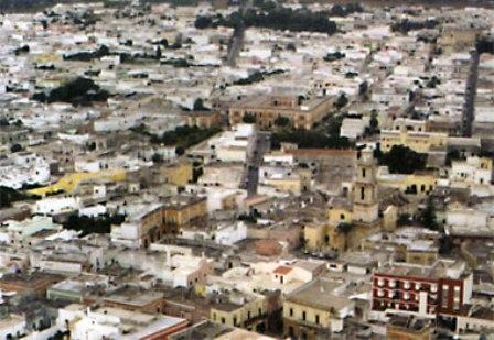 veduta aerea Squinzano