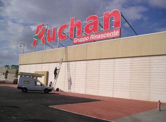 'Auchan'- Mesagne