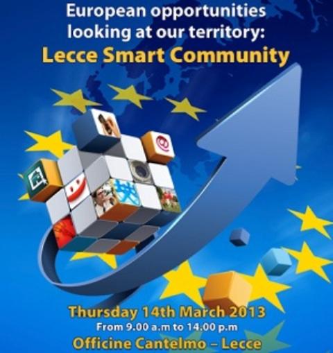 'Lecce Smart Community'- locandina