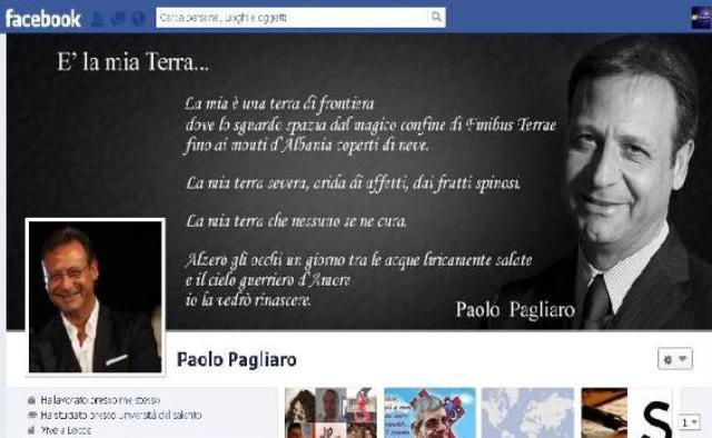 bacheca FB Paolo Pagliaro