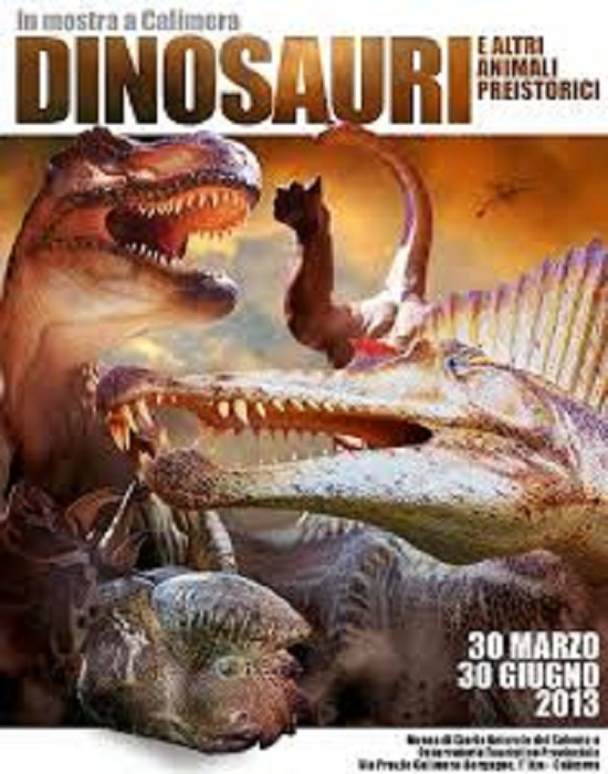 mostra 'Dinosauri ed altri animali preistorici'