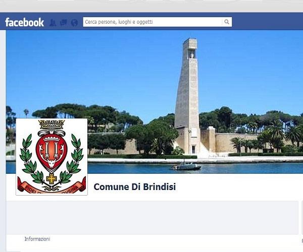pagina FB Comune di Brindisi
