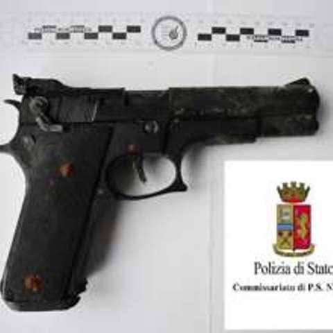 pistola ritrovata