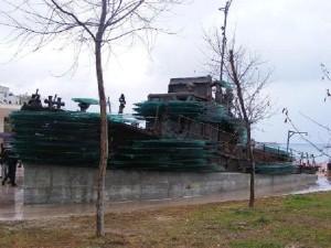 relitto della barca 'Kater I Rades'