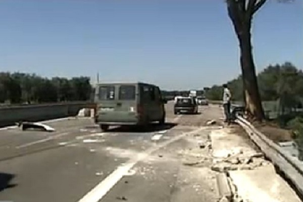 incidente sulla Lecce-Brindisi