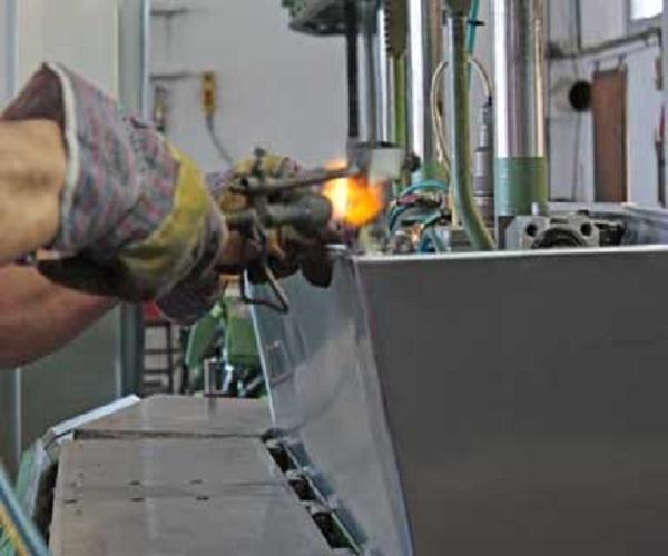 lavorazione zinco