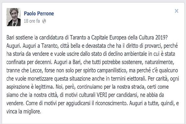 post FB Paolo Perrone