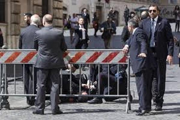 sparatoria a Roma