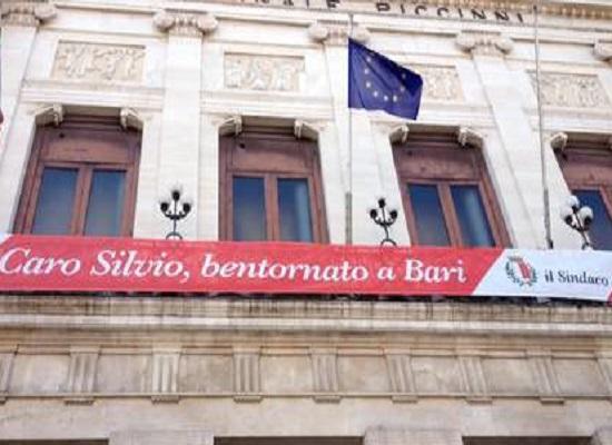 Caro Silvio, bentornato a Bari