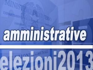Amministrative 2013