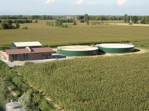 centrale a biogas a Carmiano